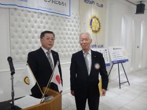 s-伊野さんが、会員増強の功労者表彰を受けました。
